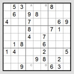 Image of a Sudoku puzzle from http://www.sudokulive.net/